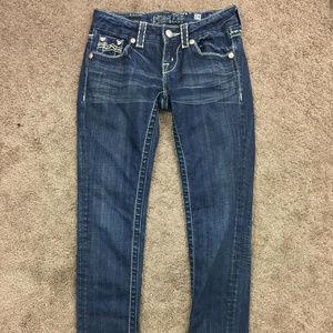 MISS ME 24 Skinny Slim Leg Jeans Excellent